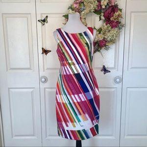 Calvin Klein Bold Sheath Dress